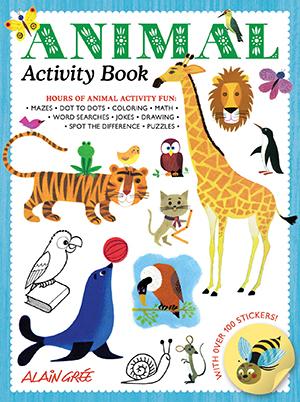 US_Animal Activity Book