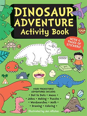 US_Dinosaur Adventure Activity Book