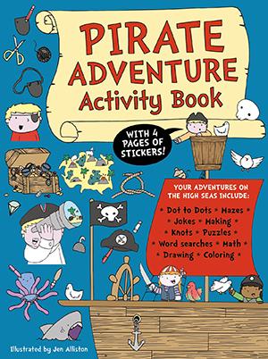 US_Pirate Adventure Activity Book