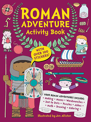 US_Roman Adventure Activity Book