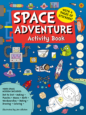 US_Space Adventure Activity Book