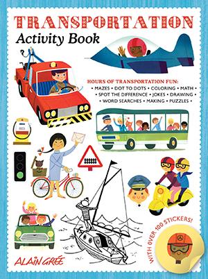 US_Transportation Activity Book