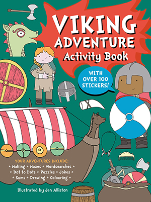 Viking Adventure Activity Book
